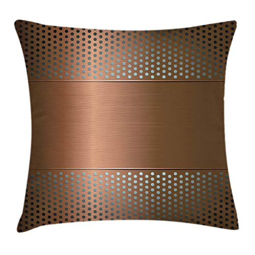 Ambesonne Industrial Throw Pillow Cushion Cover,