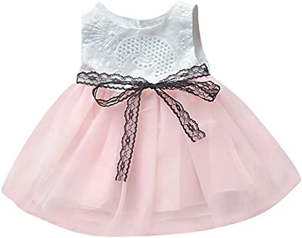 Vestido de fiesta para niña Weant Baby ropa niña falda punta hueca ...