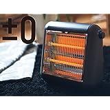 プラスマイナスゼロ 遠赤外線電気ストーブ(ブラウン)PLUS MINUS ZERO ±0 XHS-U010-T