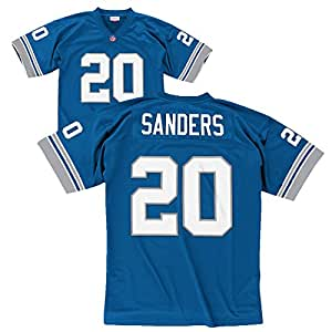 Barry Sanders Detroit Lions Throwback Jersey Small