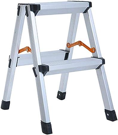 Jia He Taburete de plástico para niños Taburete de Escalera - Escalera Plegable de aleación de Aluminio for el hogar Taburete de Escalera de Cuatro o Cinco escalones Escalera mecánica Multiusos: Amazon.es: