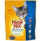 Meow Mix Seafood Medley Dry Cat Food, 18 oz (Pack of 6)
