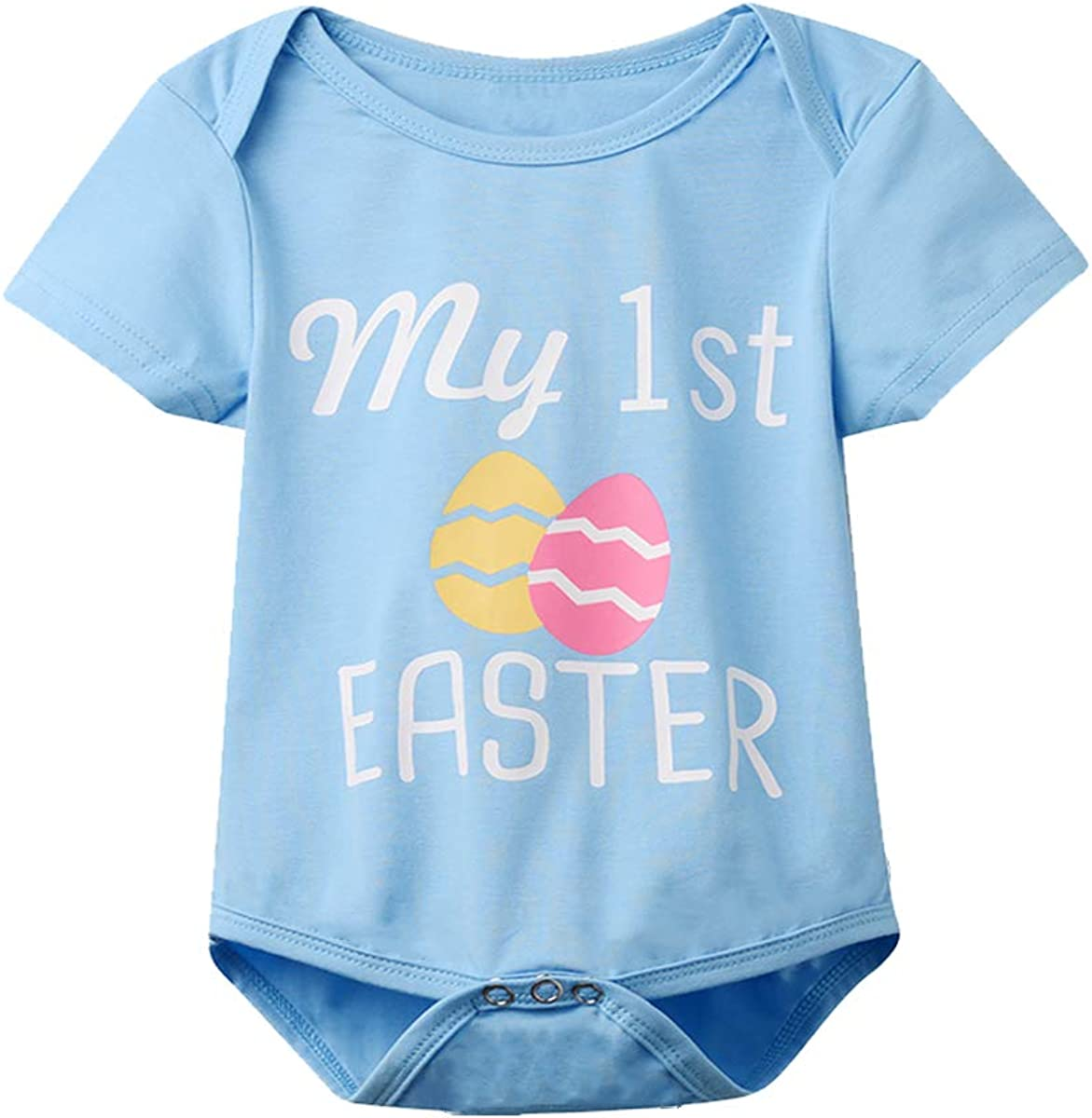 MoryGooder Baby Boys My 1st Easter Outfits First Easter Day Pant Clothing Set