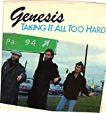 GENESIS / Taking It All Too Hard / PICTURE SLEEVE ONLY!