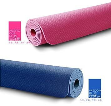 YROAR 8mm odorless 80CM Yoga Mat TPE Yoga Mat widening ...