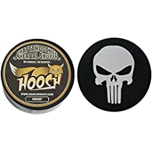 Hooch Herbal Snuff or Chew - 1 Can - Includes DC Skin Can Cover (Whiskey Fine) (Punisher Skin)