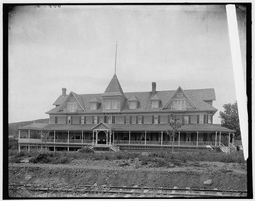 Photo: Antlers,Haines Corners,Falls,hotels,resorts,Catskill Mountains,New York,NY,1902