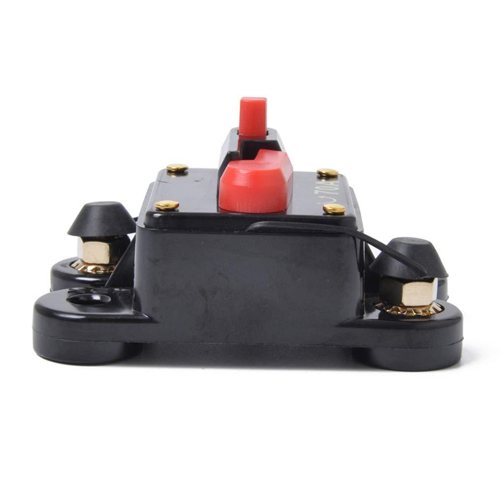 FLAMEER 70A 12V DC Leistungsschalter Trolling Motor Fahrzeug Marine Boot Fahrrad Stereo Audio Inline Sicherung