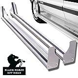 running boards e250 - Black Horse RUN102SS Aluminum Running Boards