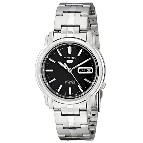 seiko-mens-snkk71-seiko-5-automatic-stainless-steel-watch-with-black-dial