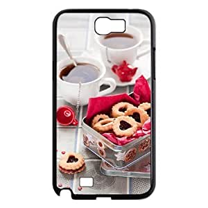 Afternoon Tea DIY with Hard Shell Protection For Case Samsung Galaxy Note 2 N7100 Cover lxa#411759