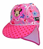 Swimpy Girl's Minnie Mouse UV Flap Hat