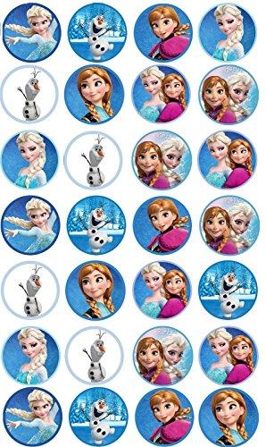 Frozen-Edible-Cupcake-Toppers-Elsa-Anna-Olaf-x-28