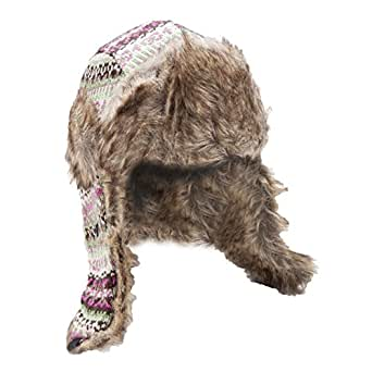 Amazon.com: Ladies/Womens Thermal Knitted Winter Trapper