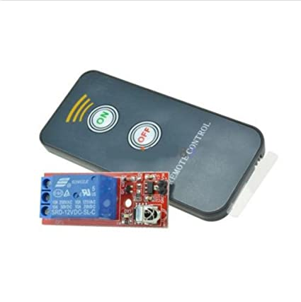 1 Channel Infrared Switch Relay Driving Module Board 12v Remote Controller Integrated Circuits Electronic Components & Supplies