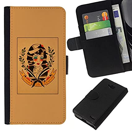Amazon.com: Smartphone Leather Wallet Case Protective Case ...