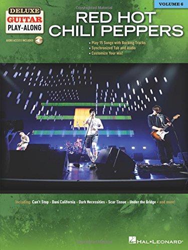 Red Hot Chili Peppers: Deluxe Guitar Play-Along: 6 (Inglés) Tapa blanda – 22 jun 2018 Hal Leonard Corporation 1540003736 Printed Music - General Music & Dance