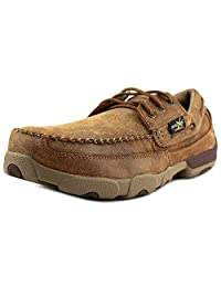 Twisted X Work Shoes Mens Driving Mocs ST Rubber Bomber MDMSTM1
