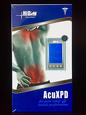 Hi-Dow USA ACUXPD For Pain Relief & Muscle Performance (RRP$449)