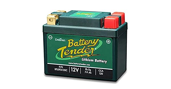 Amazon.com: Batería de litio Hierro de 12 V 9 Ah para Honda ...