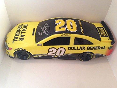 2014-matt-kenseth-dollar-general-home-depot-signed-1-18-nascar-kids-toy-car-autographed-nascar-misce