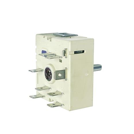 Kochplattenschalter Energieregler 240V Kochfeld Herd Original Electrolux AEG 3150788242 rechtsdrehend aufsteigend EGO 50.5707