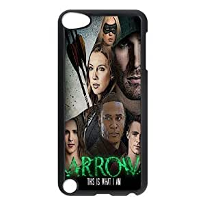 James-Bagg Phone case Super Hero Green Arrow Protective Case FOR Ipod Touch 5 Style-11