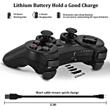 PS3 Controller Wireless Dualshock 3 PS3 - OUBANG Upgrade Version Best PS3 Games Remote Bluetooth Sixaxis Control Gamepad Heavy-Duty Game Accessories for PlayStation3,with PS3 Charger (Black)