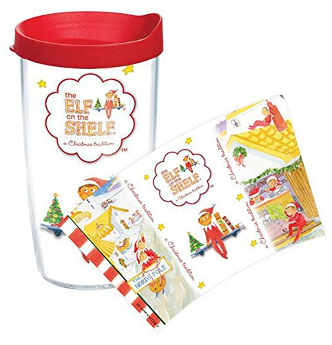 Tervis Tumbler Classic Elf on a Shelf Wrap 16oz with Travel