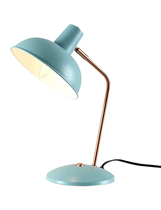 Lámpara De Mesa Azul, Escritorio De Protección para Los Ojos ...