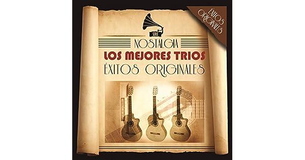 Amazon.com: Serie Nostalgia - Los Mejores Trios: Various ...