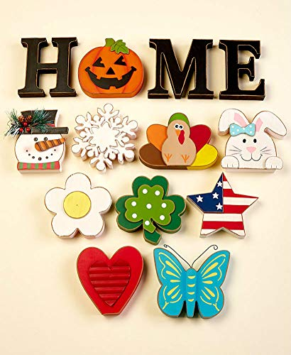 The Lakeside Collection 13-Pc. Interchangeable Home Sentiment