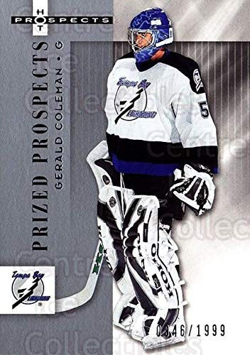(CI) Gerald Coleman Hockey Card 2005-06 Hot Prospects (base) 170 Gerald Coleman