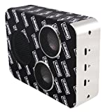 Dbot5 Bluetooth Portable Speaker, Black/White Accents