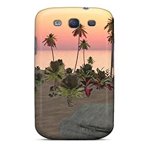 New Style Wade-cases Tropic Surrender Premium Cover Case For Galaxy S3