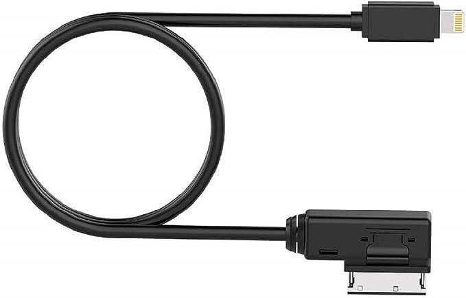 Adaptador de Audio para Interfaz de Medios Cable de alimentaci/ón AUX Compatible con IX i8 i7 i6 Plus para Mercedes Benz AMI MDI