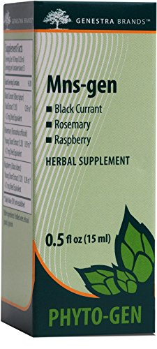Genestra Brands   Mns Gen   Black Currant  Rosemary  And Raspberry Herbal Supplement   0 5 Fl  Oz