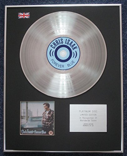 Chris Isaak – Limited Edition CD Platinum LP Disc – Forever Blau