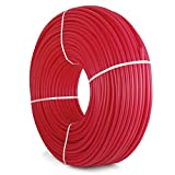 Mophorn Pex Tubing Oxygen Barrier Radiant Floor Heat Pex 1/2 Inch 1000ft Pex Pipe Potable Water Tubing Avirulent Insipidity for Residential and Commercial Water Plumbing Application Red (1000ft)