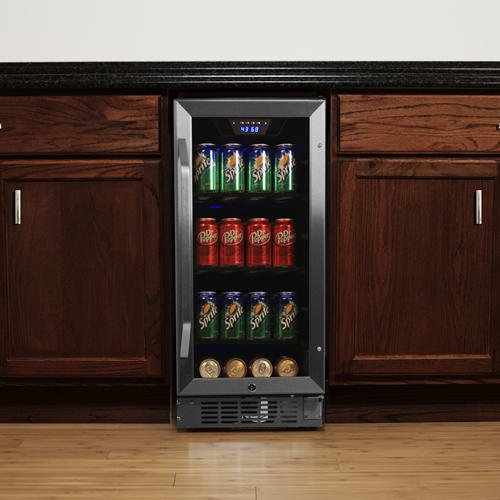Edgestar Cbr901sg 80 Can 15 Inch Wide Built In Beverage