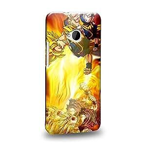 Case88 Premium Designs Dragon Ball Z GT AF Super Saiyan Son Goku Son Gohan Protective Snap-on Hard Back Case Cover for HTC One M7 by icecream design
