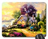 SUN VIGOR High Quality Large Mini Christmas House 1024 Natural Eco Rubber Mousepad Design Durable Mouse Mat Computer Accessories Big Gaming Mouse Pad