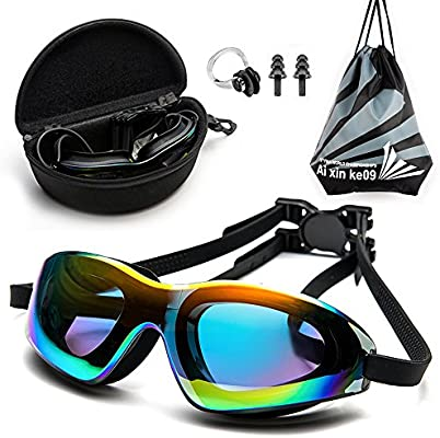 d40acbe15ad5 Amazon.com   DofooU Swim Goggles