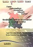 img - for Logos Universalitate Mentalitate Educatie Noutate: Sectiunea Stiinte Economice si Administrative (Lumen International Conference 2011) (Volume 4) (Romanian Edition) book / textbook / text book