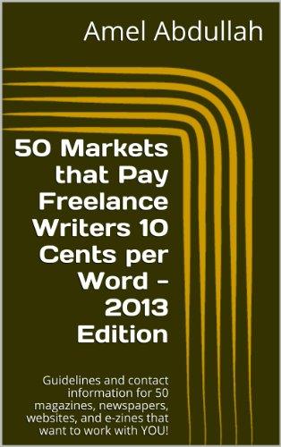 Paying writers markets