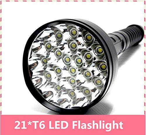 28000Lumen 21x Cree XML T6Laternen 5Modi Taschenlampe Flash Licht für 26650/18650Akku Hohe Qualität Taschenlampe Lampe