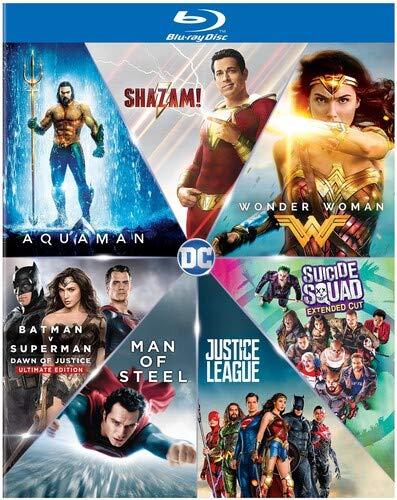 Dc 7 Film Collection 9 Blu-Ray Edizione: Stati Uniti Italia Blu ...