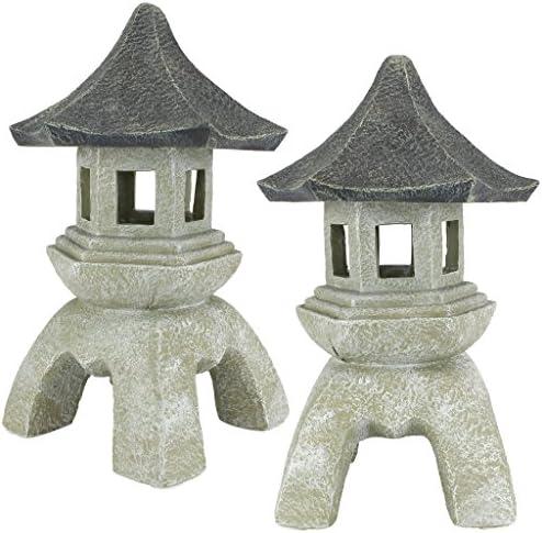 Design Toscano Asian Decor Pagoda Lantern Outdoor Statue