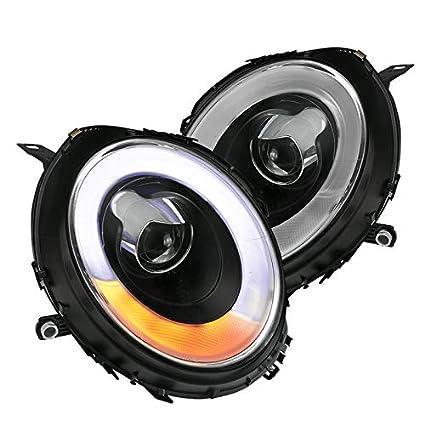 spec-d Tuning 2lhp-mini06jm-v2-tm negro Proyector para faros ...
