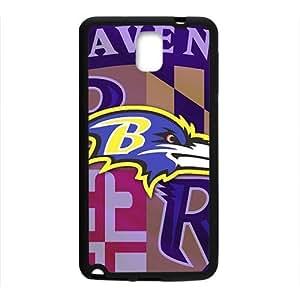QQQO Baltimore Ravens Hot sale Phone Case for Samsung Note 3 Kimberly Kurzendoerfer